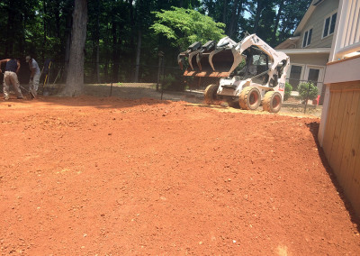 Backyard Landscaping in Knightdale