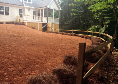 Re-Done Backyard in Knightdale