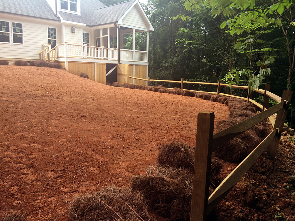 Re-Done Backyard in Knightdale