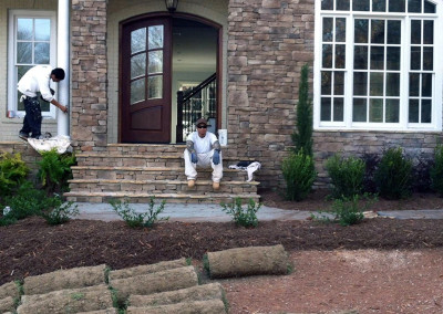 Front Yard Landscaping in Garner, NC